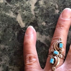 Jewelry - 🔆RING NATIVE AMERICAN STERLING TURQUOISE UNWORN